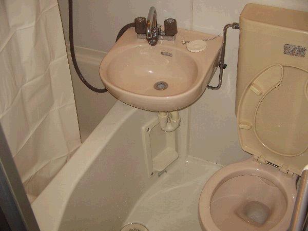 コーポマリーナ自由が丘Ⅱ 106号室の風呂