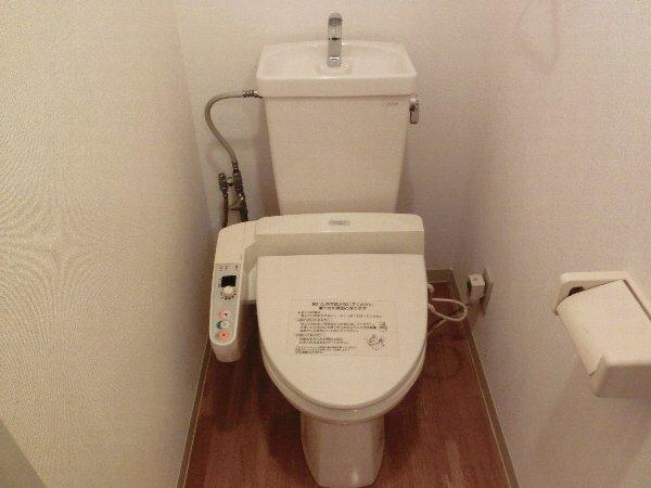自由が丘富貴ビル 302号室のトイレ