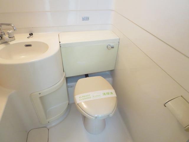 ルーニィ平町 202号室のトイレ