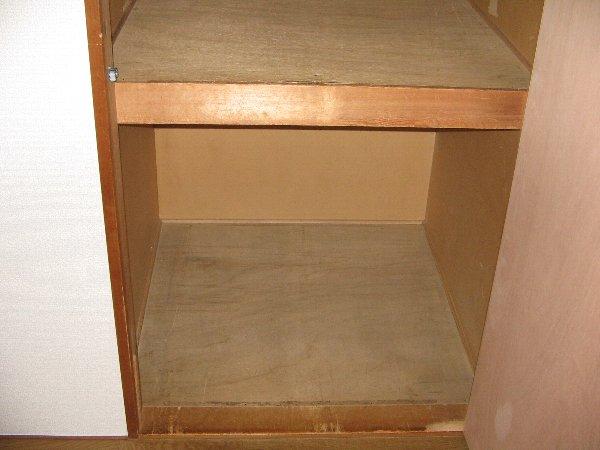 グリーンハウス上野毛 D号室の収納