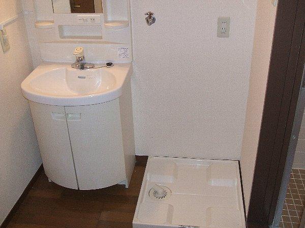 ハウス八雲第2 204号室の洗面所