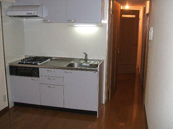 ハウス八雲第2 204号室のキッチン