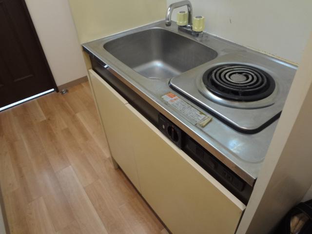 尾山台QSハイム 202号室のキッチン