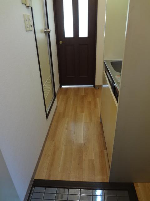 尾山台QSハイム 202号室の玄関