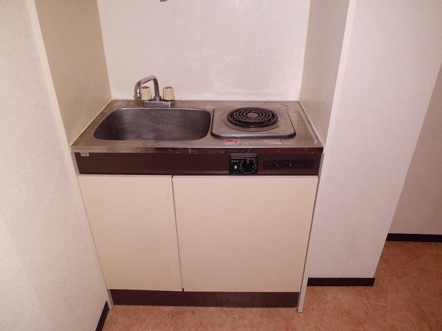 尾山台QSハイム 206号室のキッチン