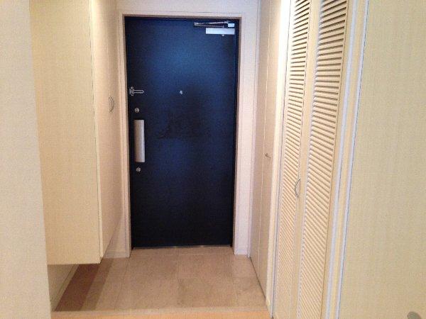 モンテバレ等々力 404号室の玄関