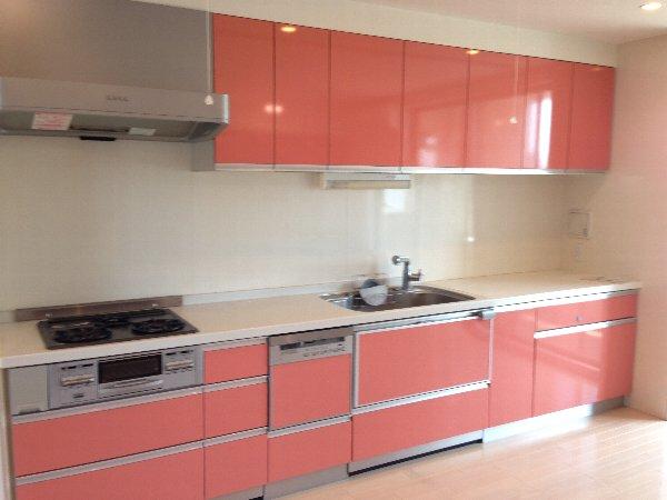 モンテバレ等々力 404号室のキッチン