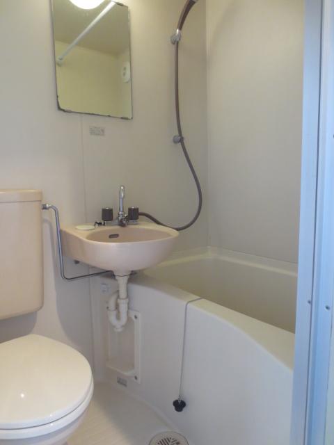 レオパレス自由が丘 205号室の風呂
