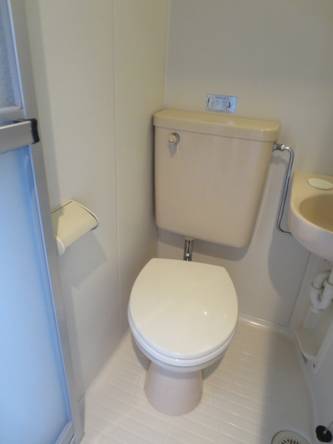 レオパレス自由が丘 205号室のトイレ