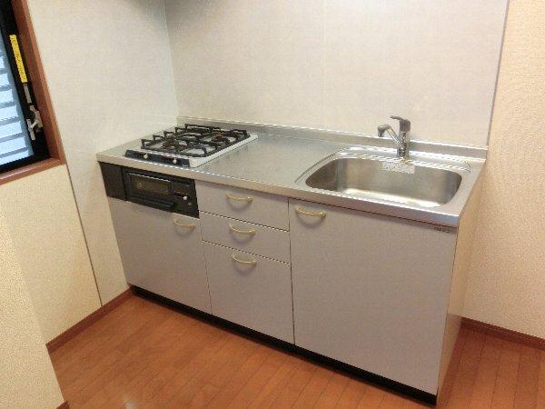 ルネス木嶋 201号室のキッチン