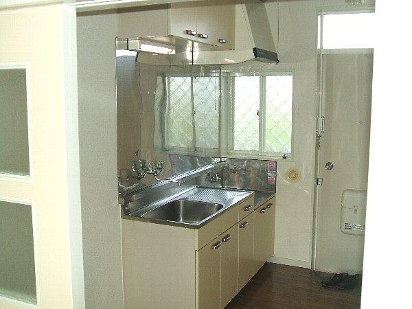 グリーンヒル等々力 203号室のキッチン