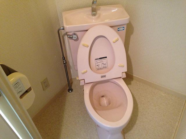 りべるてあん 305号室のトイレ