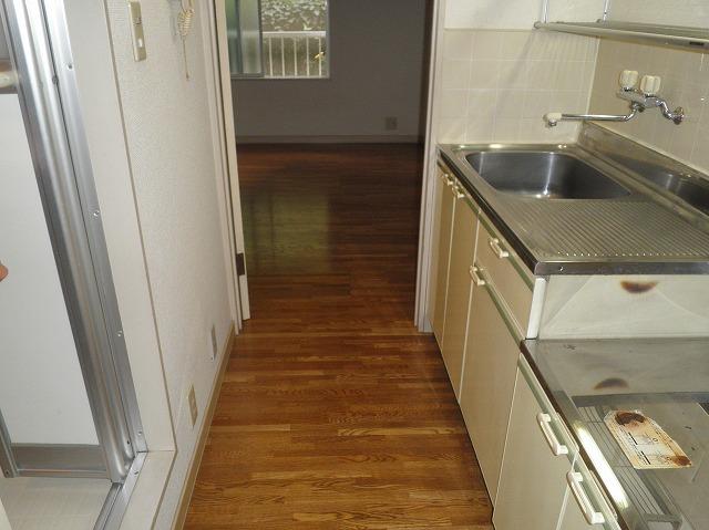 ハイツキミ 103号室のキッチン