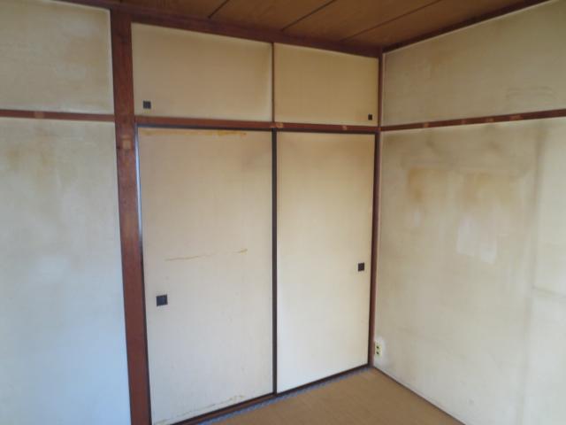 花ノ木ハイム 202号室の収納