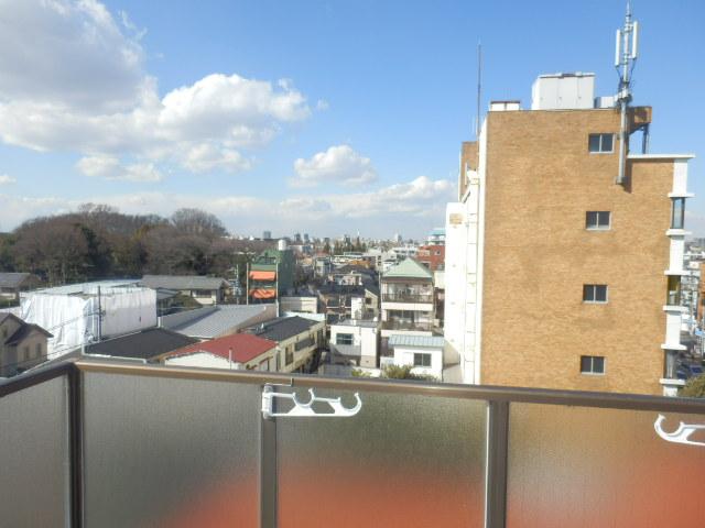 ライオンズマンション上野毛第2 602号室の景色