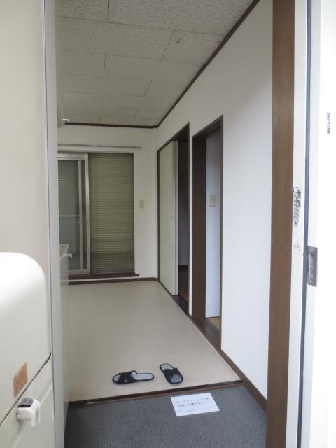 グリーンハイツシェスタ 202号室の玄関