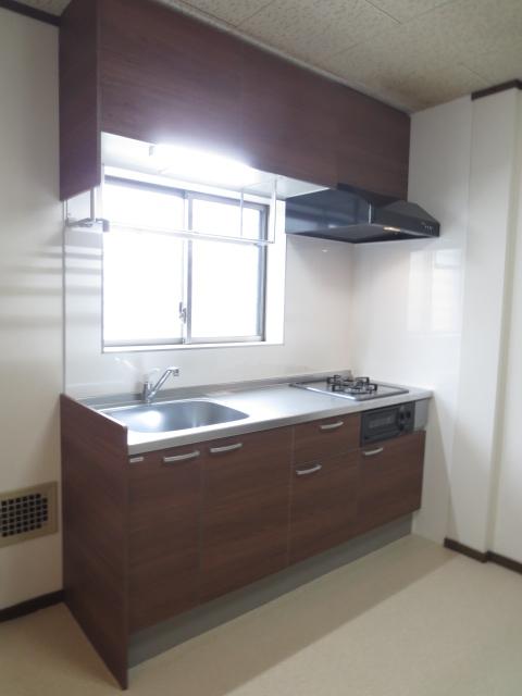 グリーンハイツシェスタ 202号室のキッチン