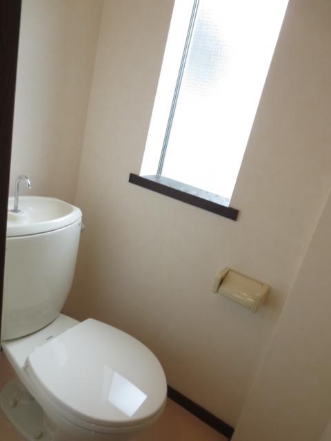 グリーンハイツシェスタ 202号室のトイレ
