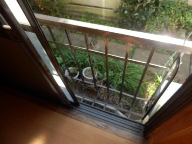竹澤アパート 101号室のバルコニー