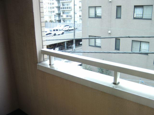 オークラ綱島ビルⅢ 302号室のバルコニー