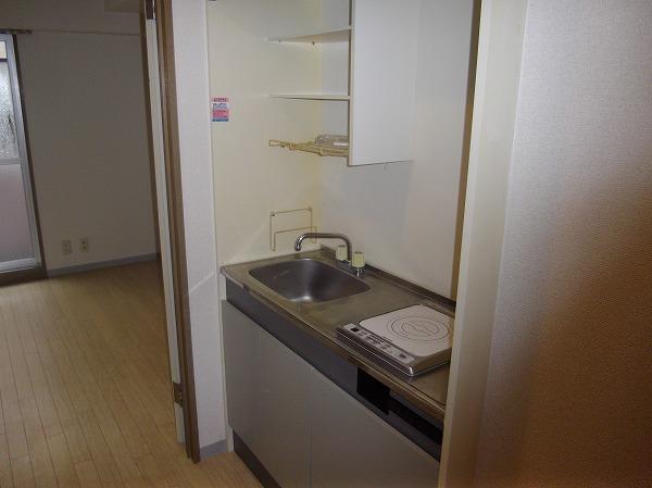 PRESENT・晴 103号室のキッチン
