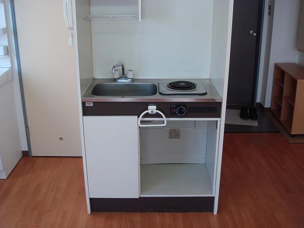 第13菊地ビル 4F号室のキッチン