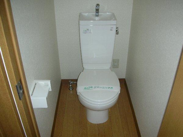 エルメゾンダイカネ 102号室のトイレ