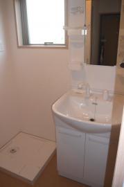 コンフィアンス流来 1202号室の洗面所