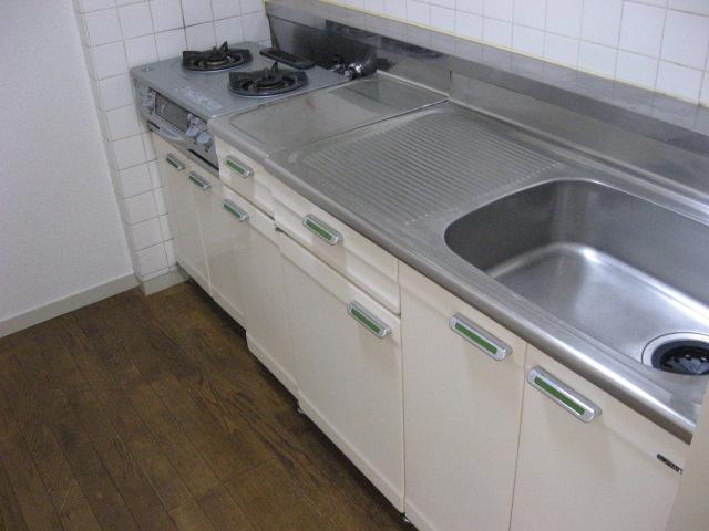 スカイビュー246 301号室のキッチン