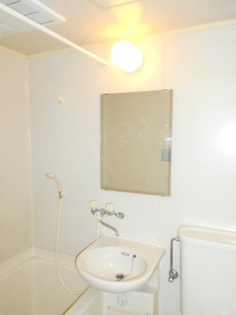 メゾン リベ 203号室の洗面所