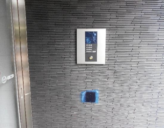 ベルメゾン若林 101号室のセキュリティ