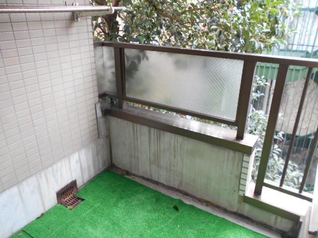 TIMESハイツ 304号室のバルコニー