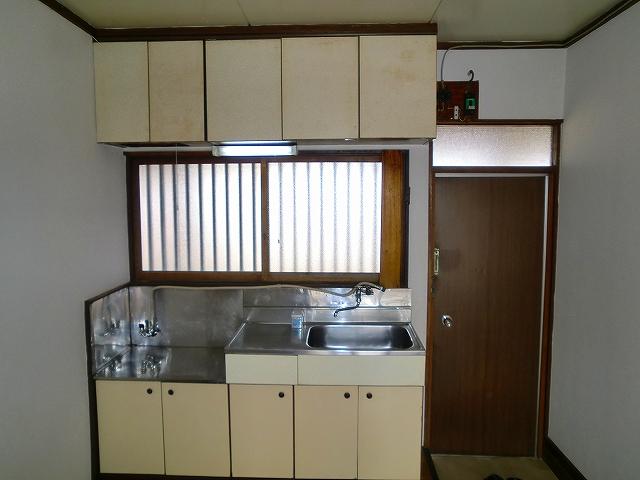 難波荘 203号室のキッチン