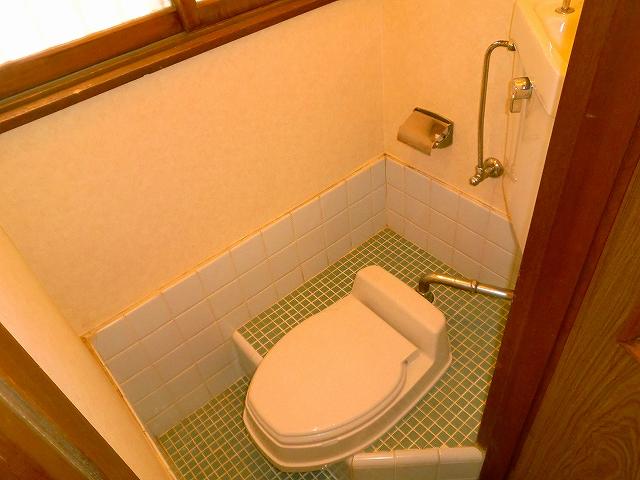 難波荘 203号室のトイレ