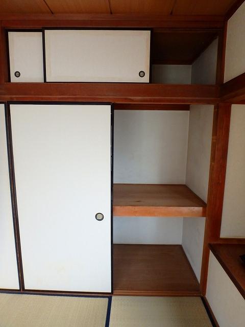 サンライフ岡田1 1-201号室の収納