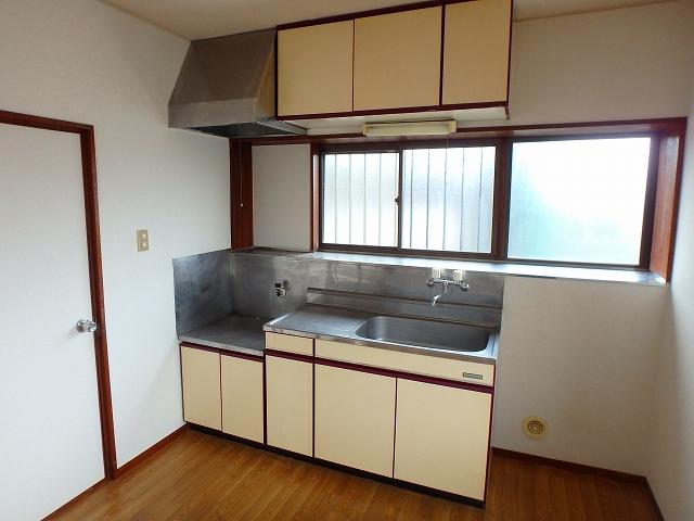 サンライフ岡田1 1-201号室のキッチン