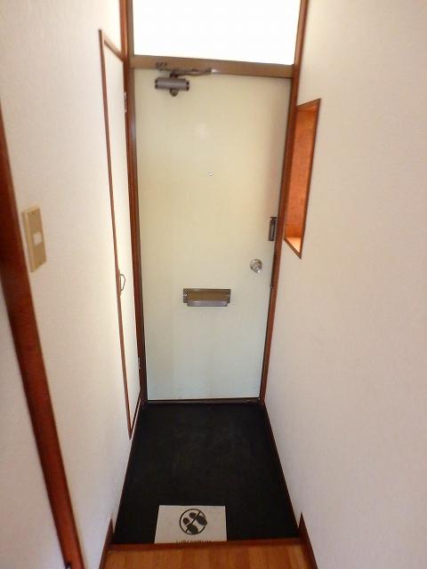 サンライフ岡田1 1-201号室の玄関
