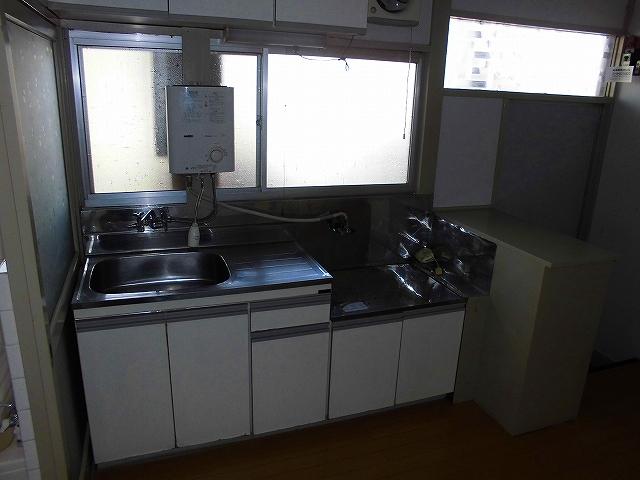 みど里荘 102号室のキッチン