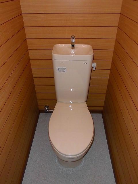 みど里荘 102号室のトイレ