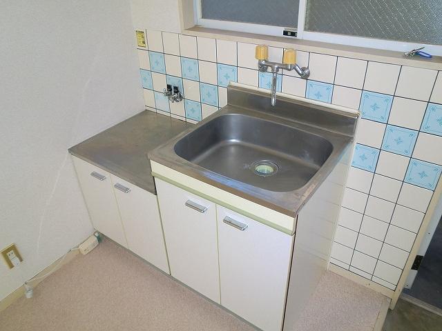 エスペランサ 201号室のキッチン