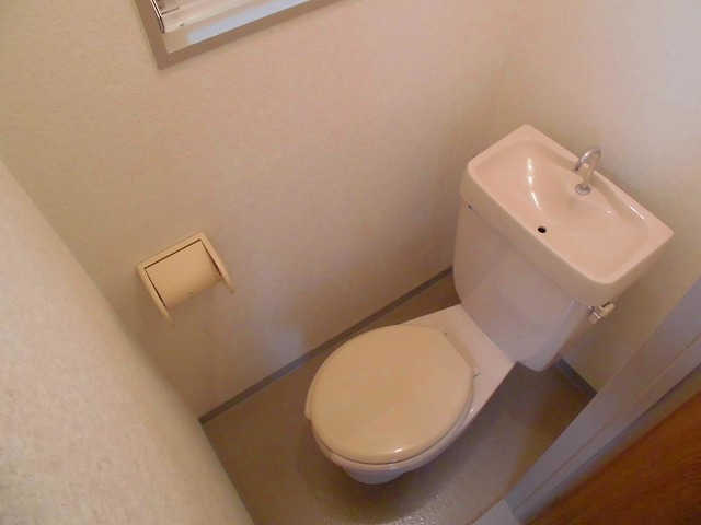 第一福寿ビル 103号室のトイレ