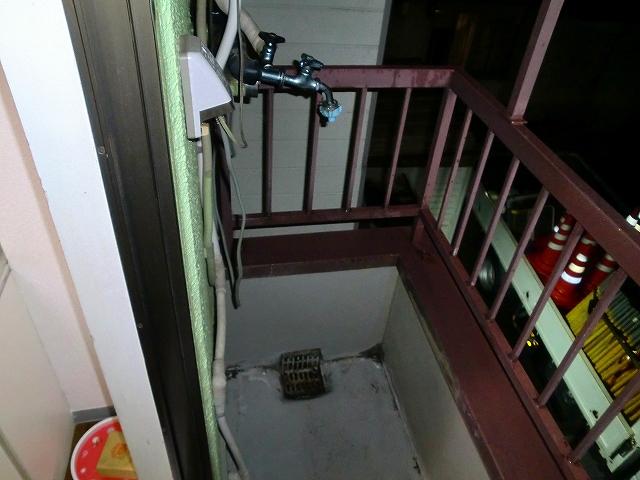 グリーンマンションⅢ 202号室のバルコニー