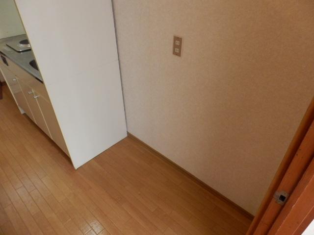 スクエアハイム 203号室のキッチン