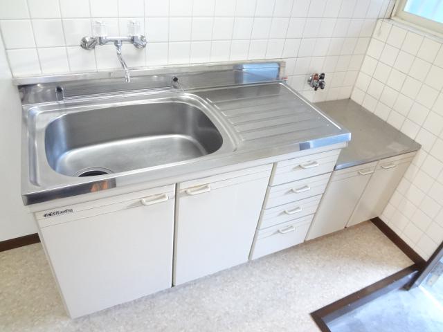 ハイツえびの 103号室のキッチン