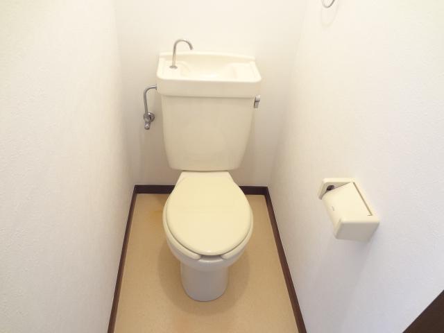 ハイツえびの 103号室のトイレ