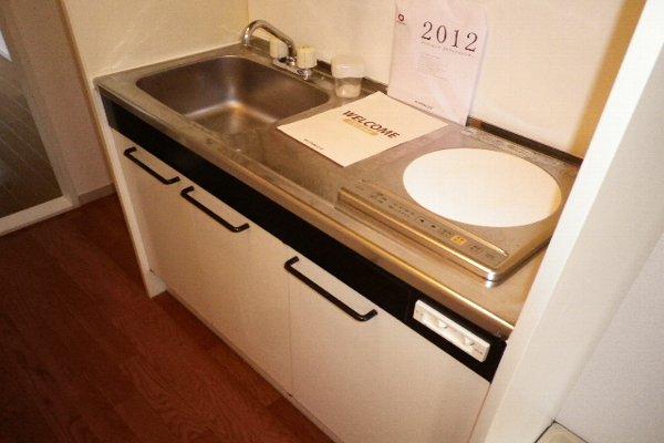 ドルフ北烏山C 206号室のキッチン