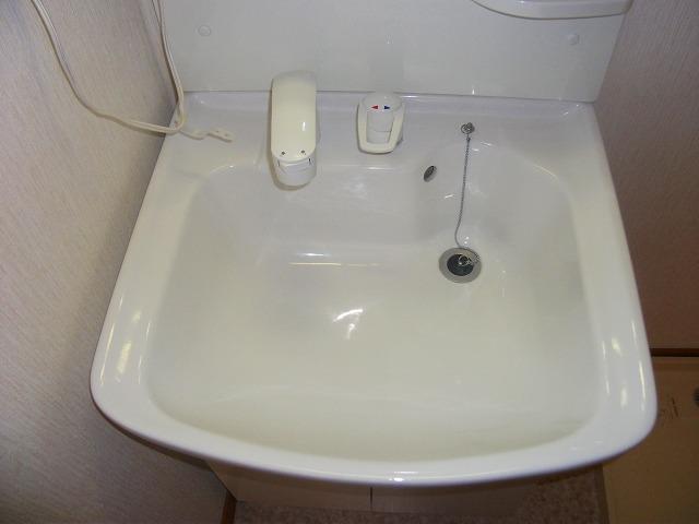 どれみ B-3号室の洗面所