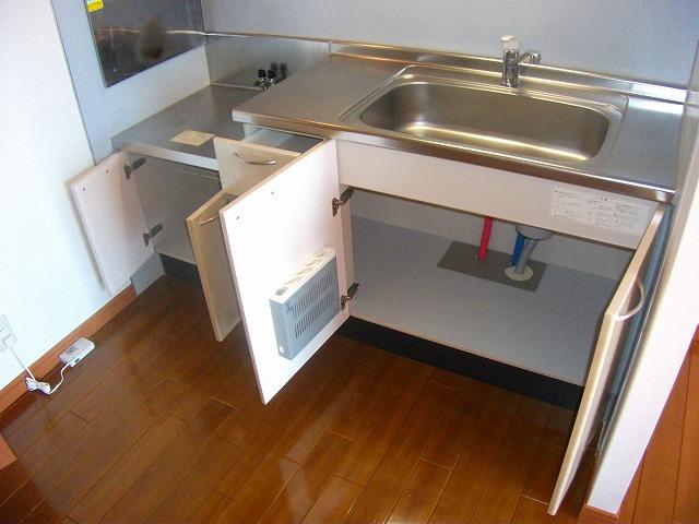 どれみ B-3号室のキッチン