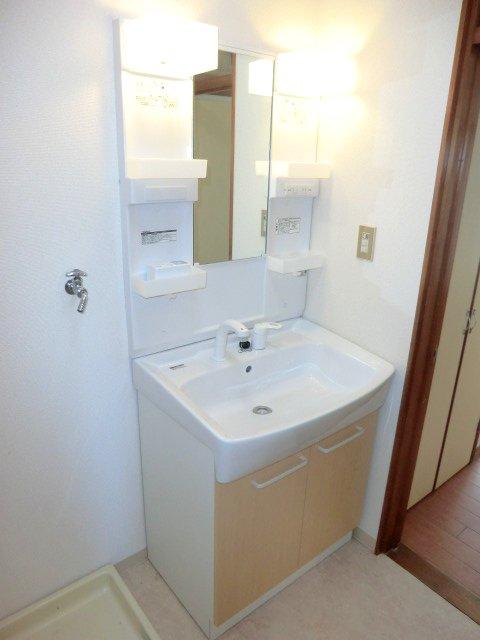 テラスハウスヤマエの洗面所