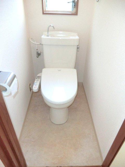 テラスハウスヤマエのトイレ